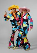 Bubble Print Suit hire costumes