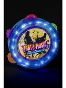 Flashing Tambourine, Assorted Colours costumes