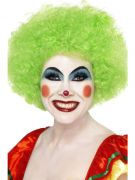 Green Crazy Clown Wig