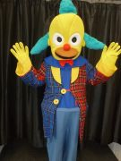 Krusty the Clown Mascot costumes
