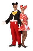 Mickey and Minnie hire costumes