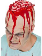 Open cap brain head cap gruesome costumes
