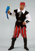 Pirate Man male hire costumes