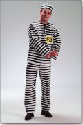 Prisoner male hire costumes