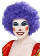 Purple Crazy Clown Wig