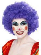 Purple Crazy Clown Wig