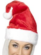 Santa hat deluxe costumes