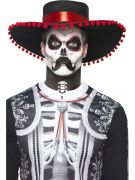 Senor Bones Male day of the dead make up kit costumes