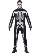 Mens Skeleton Jumpsuit Onesie costumes