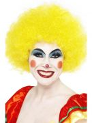 Yellow Crazy Clown Wig